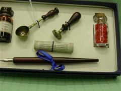 Set Penna Stilografica con Ceralacca