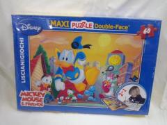 Puzzle Disney double-face 60 pezzi (Bambino)