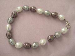 Collana in perle di mayorca