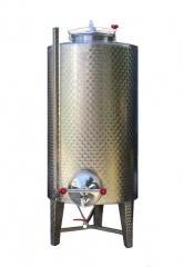 Serbatoio in acciaio inox 1000 litri con portella