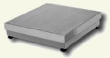 Piattaforma di peso con una cella di carico,