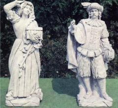 Statua Abbondanza e Statua Fortuna