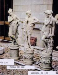 Statua Beatrice - Statua Flora - Statua Vanessa
