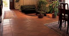 Ceramic tile, facing, interior finish