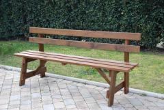 Panchina in legno mod. Trento