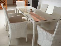 Set mobili da giardino - Modello Mediterraneo