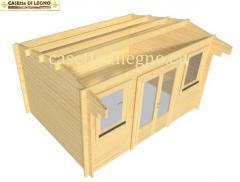 Nidas1 4x3 12mq 44mm casette di legno