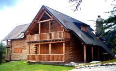 Casa in abete siberiano