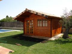 Casetta in legno LIVERPOOL 5x4