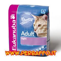 Cibo per gatti Eukanuba adult light