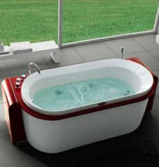 Vasca idromassaggio Orsa Minore rossa