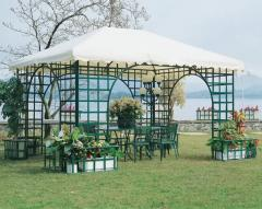 Gazebo, base in ferro