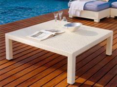 Tavolino basso da giardino
