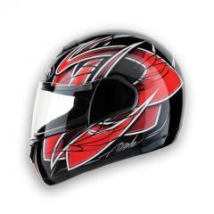 Casco moto Airoh Speed Fire Race Red