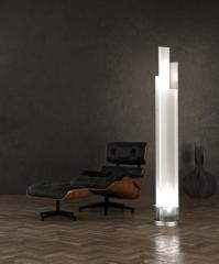 Lampada da terra Adubai, codice 4072BI