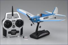 Kyosho - Aeromodello Flybaby, blu, 2,4Ghz r/s