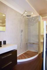 Composizione ambiente stanza da bagno