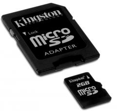 Transflash Micro SD HC da 2GB Kingston