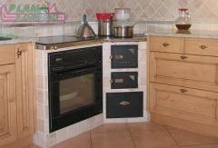 Cucina in legno di faggio