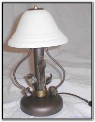 Lampada in ferro battuto
