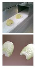 Taglierina per mezze rondelle di mele