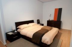 Camera da letto in wenge'