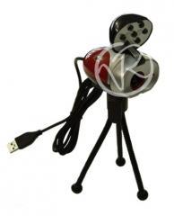 PARTICOLARE WEBCAM CON VISIONE NOTTURNA USB...