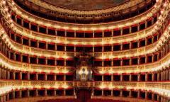 Illuminazione Teatro San Carlo di Napoli