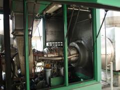 Turbina a gas Solar Turbine model. Saturn T 1500