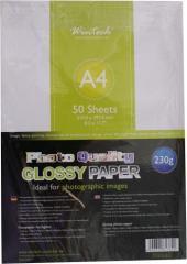 180 Gr - Carta fotografica glossy 50 fogli 13x18