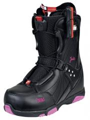 Footwear for snowboarding