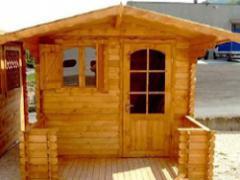 Casette in legno ad incastro