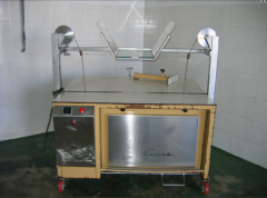Equipment for the production of solid, semi-solid