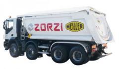 Dumping semitrailers