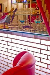 Bancone bar Hotel Vernet