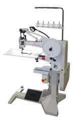 Sewing machines for manufacturing of shoes