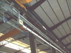 Tire electrical channels, bus-ducts, isolated