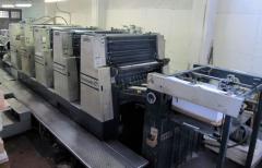 Macchina da stampa offset a foglio Miller TP104