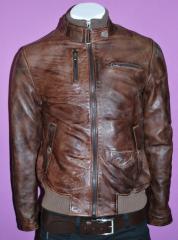 Куртки чоловічі з натуральної шкіри