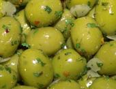 "Olive verdi schiacciate ""Stuzzicarella"" Cod.010"