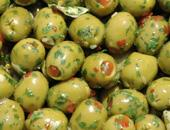 Olive verdi piccole farcite marinate Cod.033