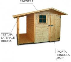 Casetta prefabbricata