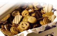 Biscuit shortbread cookies