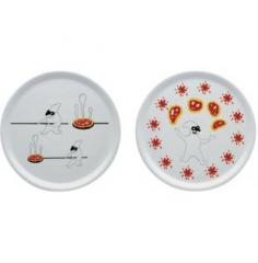 Pummaroriella Piatti, Set di due piatti per pizza