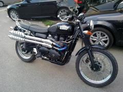 Ciclomotore Triumph Scrambler