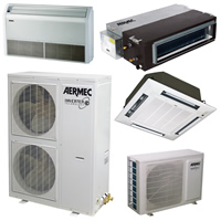 Air conditioners, split unit system