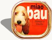 Frescume per cani Patè in Vaschetta