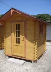 Casetta 2 x 2 in legno Abete