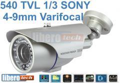 Telecamera varifocal 1/3 SONY CCD S-HAD EX-VIEW