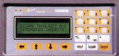 Display PLC di comando